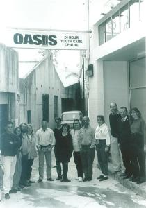 1992 Oasis Staff in Laneway